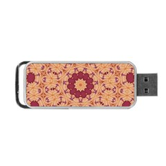 Abstract Art Abstract Background Pattern Portable Usb Flash (two Sides)