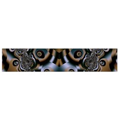 Art Fractal Artwork Design Small Flano Scarf