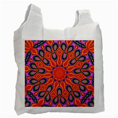Abstract Art Abstract Background Recycle Bag (one Side)