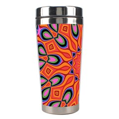 Abstract Art Abstract Background Stainless Steel Travel Tumblers by Simbadda