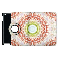 Fractal Kaleidoscope Mandala Apple Ipad 3/4 Flip 360 Case