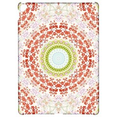Fractal Kaleidoscope Mandala Apple Ipad Pro 12 9   Hardshell Case by Simbadda