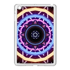 Mandala Art Design Pattern Apple Ipad Mini Case (white)