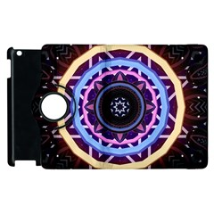 Mandala Art Design Pattern Apple Ipad 3/4 Flip 360 Case