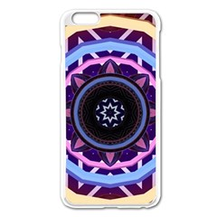 Mandala Art Design Pattern Apple Iphone 6 Plus/6s Plus Enamel White Case