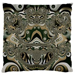 Fractal Art Artwork Design Large Cushion Case (two Sides)