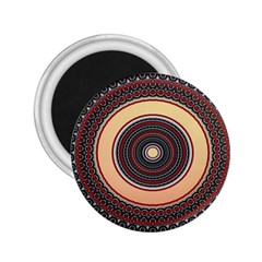 Ornamental Shape Concentric Round 2 25  Magnets