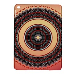 Ornamental Shape Concentric Round Ipad Air 2 Hardshell Cases