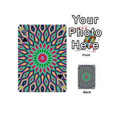 3d Abstract Art Abstract Background Playing Cards 54 (mini)