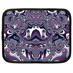 Fractal Art Artwork Design Netbook Case (large)