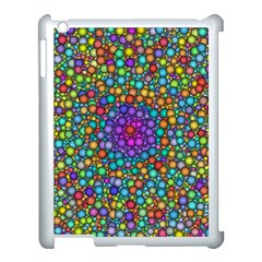 Points Mandala Kaleidoscope Apple Ipad 3/4 Case (white)