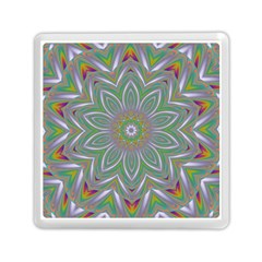 Abstract Art Colorful Texture Memory Card Reader (square)