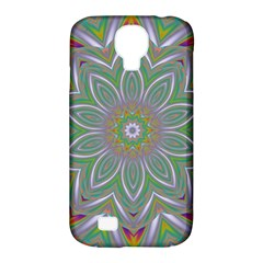 Abstract Art Colorful Texture Samsung Galaxy S4 Classic Hardshell Case (pc+silicone)