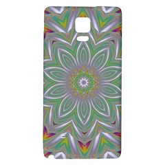 Abstract Art Colorful Texture Samsung Note 4 Hardshell Back Case by Simbadda
