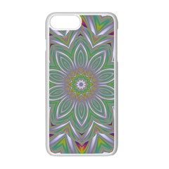 Abstract Art Colorful Texture Apple Iphone 7 Plus Seamless Case (white) by Simbadda