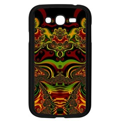 Fractal Art Artwork Design Samsung Galaxy Grand Duos I9082 Case (black) by Simbadda