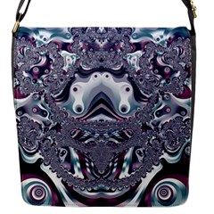 Pattern Fractal Art Artwork Design Flap Closure Messenger Bag (s) by Simbadda