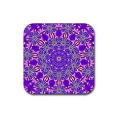 Abstract Art Abstract Background Rubber Coaster (square)