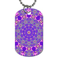 Abstract Art Abstract Background Dog Tag (two Sides)