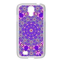 Abstract Art Abstract Background Samsung Galaxy S4 I9500/ I9505 Case (white)