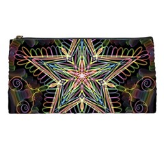 Star Mandala Pattern Design Doodle Pencil Cases