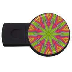 Pattern Art Abstract Art Abstract Background Usb Flash Drive Round (4 Gb)