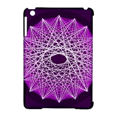 Mandala Mallow Circle Abstract Apple Ipad Mini Hardshell Case (compatible With Smart Cover) by Simbadda
