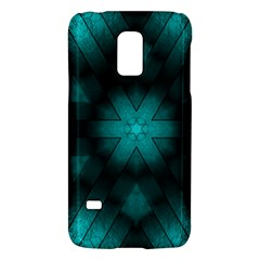 Abstract Pattern Black Green Samsung Galaxy S5 Mini Hardshell Case