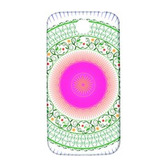 Flower Abstract Floral Samsung Galaxy S4 I9500/i9505  Hardshell Back Case