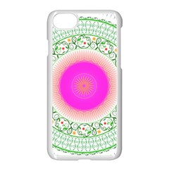 Flower Abstract Floral Apple Iphone 8 Seamless Case (white) by Simbadda