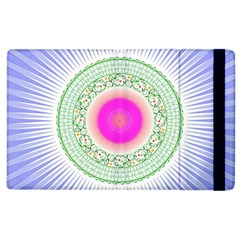 Flower Abstract Floral Apple Ipad 2 Flip Case by Simbadda