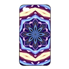 Mandala Art Design Pattern Apple Iphone 4/4s Seamless Case (black) by Simbadda