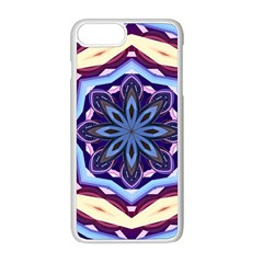 Mandala Art Design Pattern Apple Iphone 8 Plus Seamless Case (white) by Simbadda