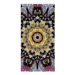 Abstract Art Texture Mandala Shower Curtain 36  X 72  (stall)