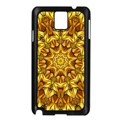 Abstract Antique Art Background Samsung Galaxy Note 3 N9005 Case (black)