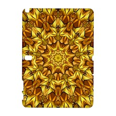 Abstract Antique Art Background Samsung Galaxy Note 10 1 (p600) Hardshell Case by Simbadda