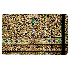 Gold Pattern Decoration Golden Apple Ipad Pro 9 7   Flip Case by Simbadda