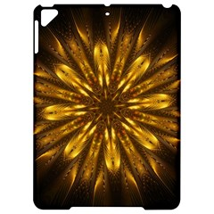 Mandala Gold Golden Fractal Apple Ipad Pro 9 7   Hardshell Case