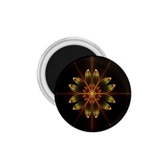 Fractal Floral Mandala Abstract 1 75  Magnets