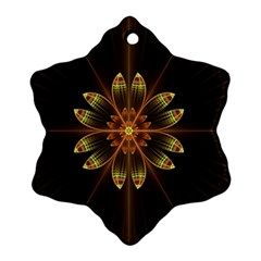 Fractal Floral Mandala Abstract Ornament (snowflake)