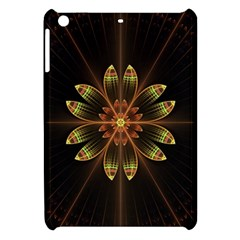 Fractal Floral Mandala Abstract Apple Ipad Mini Hardshell Case