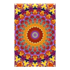 Fractal Kaleidoscope Mandala Shower Curtain 48  X 72  (small)
