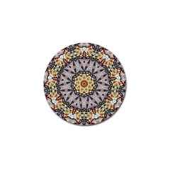 Abstract Art Texture Mandala Golf Ball Marker (4 Pack)