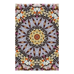 Abstract Art Texture Mandala Shower Curtain 48  X 72  (small)