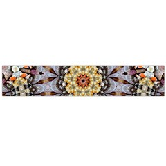 Abstract Art Texture Mandala Large Flano Scarf
