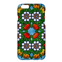 Mandala Background Colorful Pattern Apple Iphone 6 Plus/6s Plus Hardshell Case
