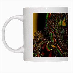 Fractal Art Artwork Design White Mugs