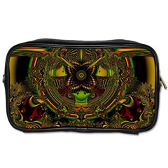 Fractal Art Artwork Design Toiletries Bag (one Side)