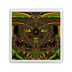 Fractal Art Artwork Design Memory Card Reader (square)