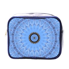 Mandala Graphics Decoration Mini Toiletries Bag (one Side) by Simbadda